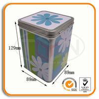 Tall Rectangular Tin Box Wholesaler