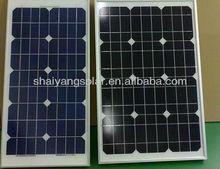small power 10w monocrystalline silicon solar panels