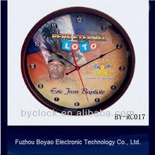 12inch round plastic wall clock 30cm quartz clock plastic clock