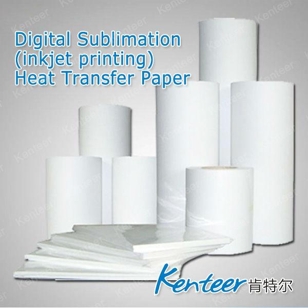vendite caldo sublimazione di trasferimento di calore carta da stampa per tessuti