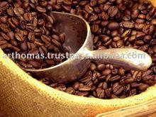 arrosto chicco di caffè arbica