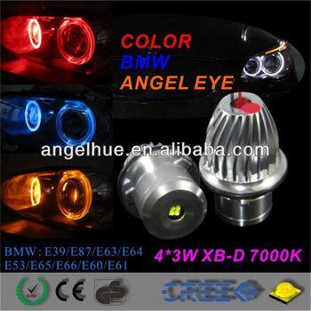 Auto car led light,Angel eyes headlight 20w,car accessories hid projector lens bi-xenon