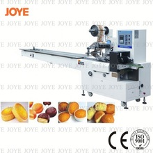 Flow Sponge Cake Bread Packing Wrapping Machine JY-300/DXD-300 For Good Performance