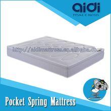 AC-1216 high carbon spring mattress good quality memory foam mattress