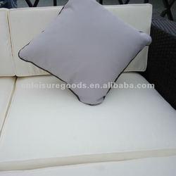 Outdoor aluminium wicker sofa set rattan furniture