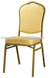 golden iron hotel chair XL-H0705