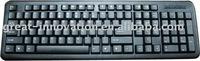 Popular Design Of USB Slim Keyboard/arabic keyboard