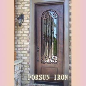 porte d 39 entr e en fer forg fsm 503a portes id du produit 431285084. Black Bedroom Furniture Sets. Home Design Ideas