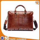 2014 Hot Selling Genuine Leather Briefcase Brown