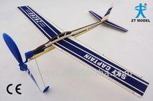 Sky boy - Sky Captain 16 bande de caoutchouc de Balsa planeur propulsé Balsa bois planeurs