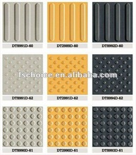 ceramic tile floor tile price tactile tile for blind guidance with direction and caution pattern 300X300