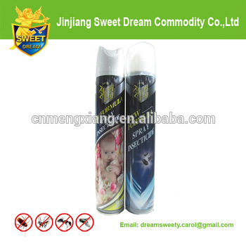 spray insecticide