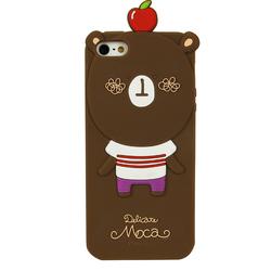 custom cute animal silicone phone case,animal silicone case for iphone 6