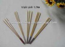triple pick/skewer/stick