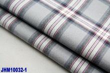 poplin fabric in big check 100% cotton