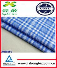 95% Cotton and 5% Lycra/spandex jersey fabric /jacquard check shirting fabric