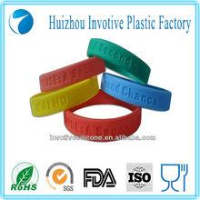 Hot Selling Promotion gift silicone fashion bracelet
