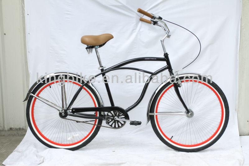 2014 Colorful beach cruiser bike/beach cruiser bicycle chopper bike KB-BC-Z07
