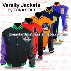 Varsity Jackets / Wholesale Blank Varsity Jackets / Get Your Own Designed Jackets From ZONA STAR Pakistan