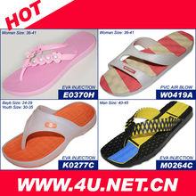 Girls Fashion PVC Plastic Slippers