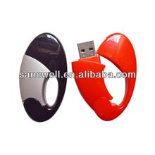Egg Shape Twister USB Flash Drive