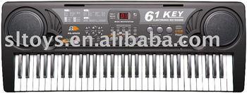 61 keys musical keyboards MQ-809USB