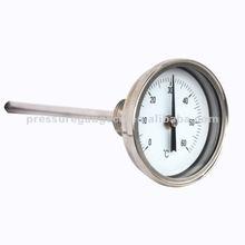 Bimetal indicador de temperatura del termómetro