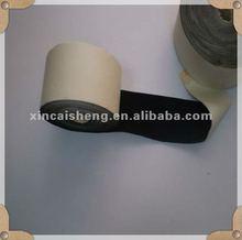 adhesive back black flocking fabric