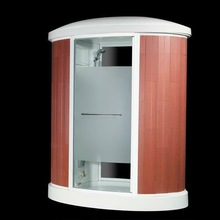 cUPC modern outdoor computerized acrylic tempered glass massage sauna room