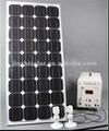 Melhor preço 160 w sistema de energia solar para uso doméstico