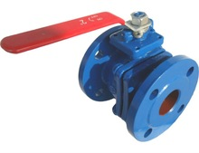 CAST IRON BALL VALVE FLANGE END PN10