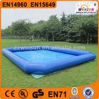2014 CE certificate PVC tarpaulin giant inflatable pool