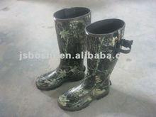 Men's Neoprene Camo rain boots/working boots/knee boots