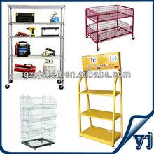 OEM Chrome Plated Rack Shelves/Wire Plated Shelving Rack/Metal Rack Shelves