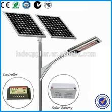 Good quality IP66 84w/260w/8m Solar Street Light Price List With CE, ROHS, IEC