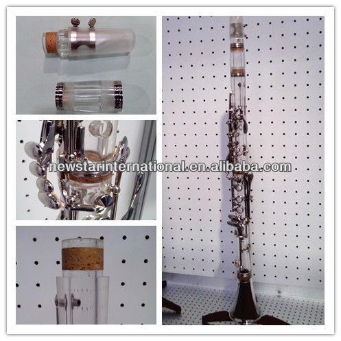 Transparente Bb clarinete