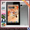Quad core 7 inch tablet phone call