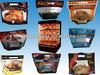 CUSTOM plastic slide zipper hot chicken bags/ microwave hot roast chicken packaging bag/microwaveable grilled chicken bag