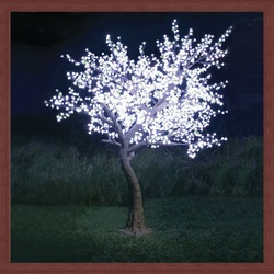 LED cherry light tree 2.7m 167w 2014 new product led tree zhong shan