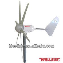 Household wind power generator WELLSEE WS-WT300W low wind start wind generator for home use