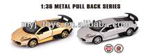 Popular die cast metal toy car