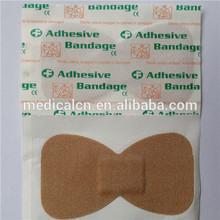 Butterfly shape adhesive bandage