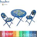 móveis de jardim de infância de mesa redonda e cadeiras