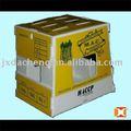Obst und gemüse lagerung/transfer kunststoff pp box/kiste