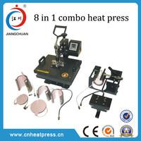 NEW 8 in 1 combo multifunction t shirt Heat Press Machine
