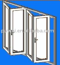 pvc fen tre en aluminium porte coulissante rabattable
