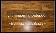 Large leaf acasia solid hard wood flooring