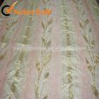 cheap leaf jacquard curtain fabric 2012