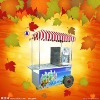 Super convenient mobile ice cream cart- your best mobile shop