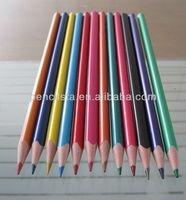 Plastic color 7 inches pencil